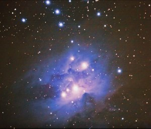 NGC 1973 Running Man DSS1 PS1