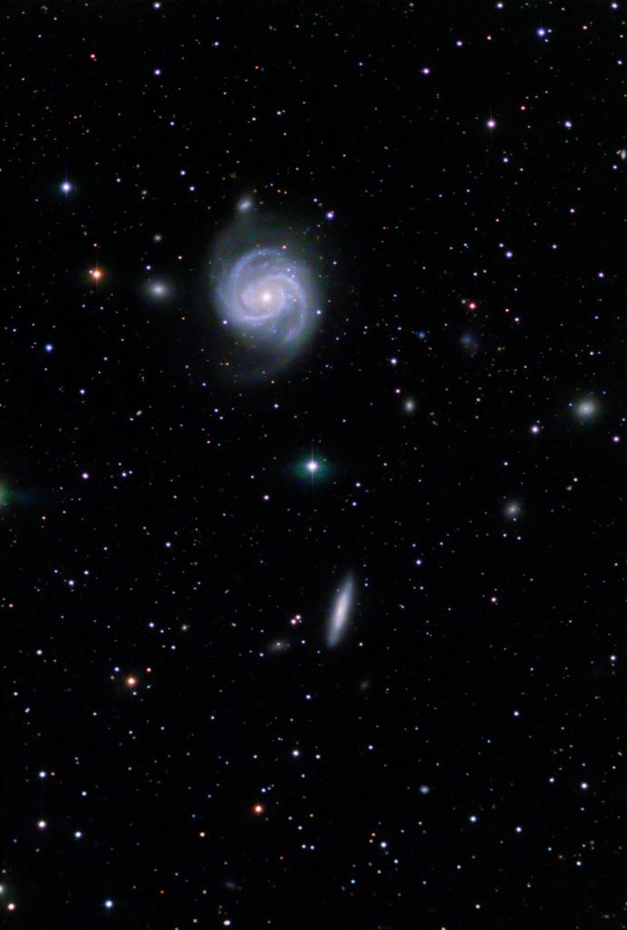 M100 & NGC 4312 Galaxies