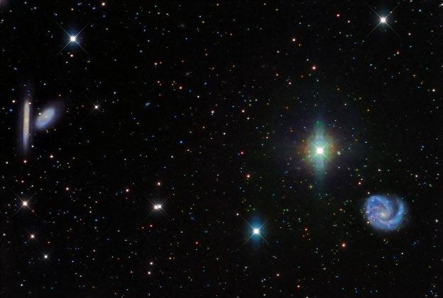 M99 Coma Pinwheel