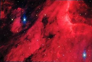 Pelican Nebula, IC 5070 deep sky object image